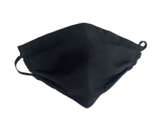 3 Layers Non-Medical Filtration Masks (Black Colour)